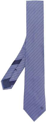 Salvatore Ferragamo interwoven pattern tie