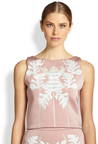 Cynthia Rowley Embroidered Shell