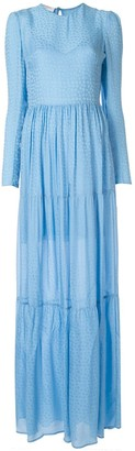 Philosophy di Lorenzo Serafini Jacquard Print Dress