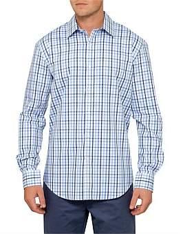David Jones Windowpane Shirt