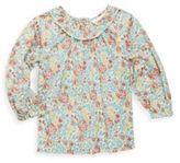 Ralph Lauren Girl's Floral-Print A-Line Top
