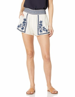 Lucky Brand Women's Embroidered Short