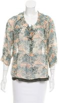 Joie Silk Perry Blouse w/ Tags