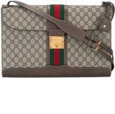Gucci Web GG Supreme shoulder bag - men - Polyurethane - One Size