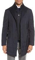 Corneliani Men's Classic Fit Quilted Topcoat