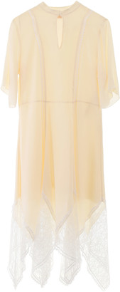 See by Chloe Dress With Lace Inserts