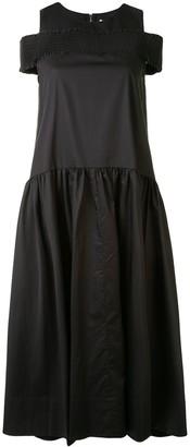 Tibi Drop-Waist Sleeveless Dress
