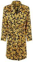 Versace Iconic Baroque Silk Robe