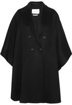 Max Mara Basilo Oversized Cashmere Coat - Black