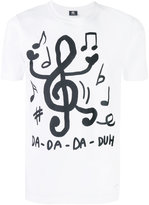 Paul Smith music notes T-shirt - men - Cotton - S