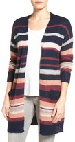 Caslon Long Stripe Cardigan (Regular & Petite)