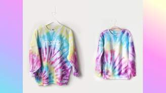 MAGIC RAINBOW <3 tie-dye matching mommy + me sweatshirts for adults, youth, kids and babies