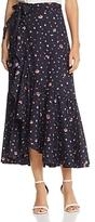 Rebecca Taylor Phlox Floral Wrap Skirt