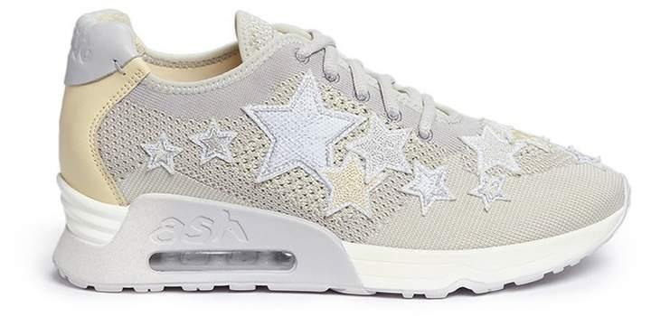 Ash 'Lucky Star' appliqué knit sneakers