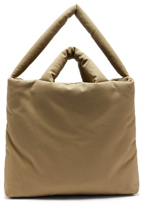 Kassl Editions Oil Large Padded Canvas Tote Bag - Beige
