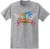 Novelty T-Shirts Short Sleeve Sonic the Hedgehog Graphic T-Shirt