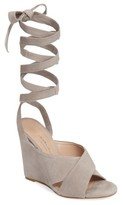 Charles David Women's Quest Wraparound Lace Sandal