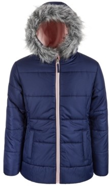S. Rothschild Big Girls Quilt Puffer Coat
