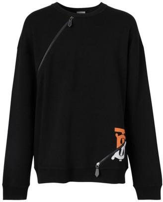 Burberry Pitchford TB Zip Sweater