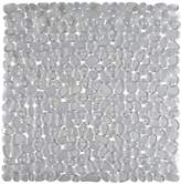 Aqualona Clear Pebbles Shower Mat