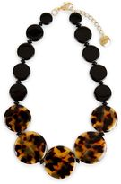 Jaeger Tabitha Flat Bead Necklace