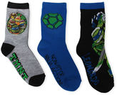 LICENSED PROPERTIES TMNT Crew Socks 3-pc