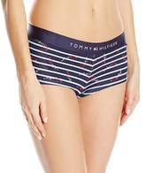 Tommy Hilfiger Women's Sporty Band Boyshort Underwear Panty
