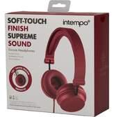 intempo Encore Headphones Red