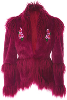 Anna Sui La Belle Faux Fur Jacket