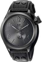 Vestal Men's CTN3L11 Canteen Leather Analog Display Japanese Quartz Watch