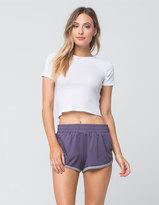 Socialite Knit Womens Dolphin Shorts