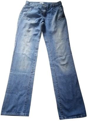 Marella Blue Cotton Jeans for Women