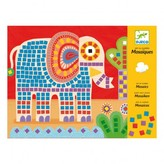 Djeco Elephant and Snail Mosaic