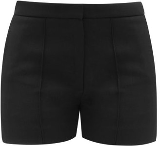 Pallas X Claire Thomson-jonville - Gipsy Tailored Wool-twill Shorts - Womens - Black