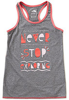 The North Face Little/Big Girls 5-18 Peak Novelty Graphic Asymmetrical Hem Tank Top