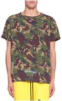 Off-White Arrows Camouflage Cotton T-shirt