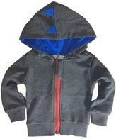 NIBOX Baby Boys Long Sleeve Dinosaur Hoodies Clothes Jacket Toddler Zip-up Sweatshirt (12-18 Months, )