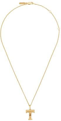Chloé letter T pendant necklace