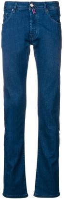 Jacob Cohen Low-Rise Straight Leg Jeans