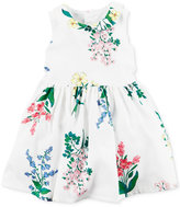Carter's Collared Floral-Print Dress, Baby Girls (0-24 months)