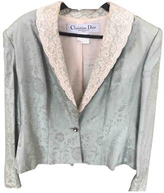 Christian Dior Green Silk Jackets