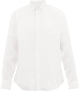 Onia Abe Linen Shirt - Ivory