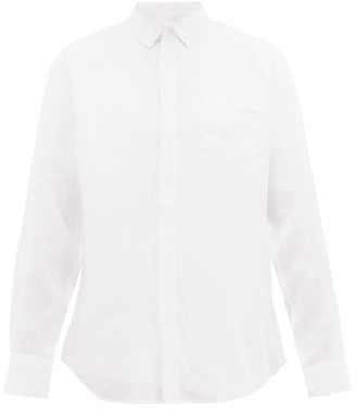 Onia Abe Linen Shirt - Mens - Ivory