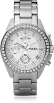 Fossil Decker Ladies Stainless Steel Watch