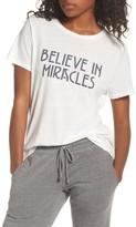 Spiritual Gangster Women's Believe In Miracles Tee