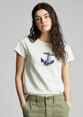 Ralph Lauren Anchor-Graphic Cotton Tee