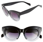 A. J. Morgan Women's A.j. Morgan 'Emma' 48Mm Sunglasses - Black