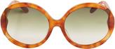 Missoni Tortoise Cutaway Sunglasses