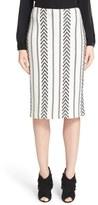 St. John 'Darya' Knit Pencil Skirt