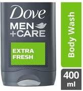 Dove Men+Care Extra Fresh Body & Face Wash 400ml